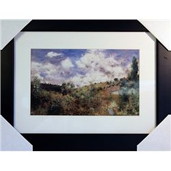 Pierre August Renoir  Limited Edition-The Gust of Wind