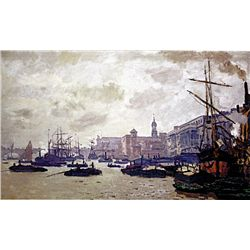 Port of London by Monet