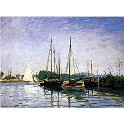 Pleasure Boats by Monet