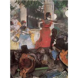 Cafe Concert - Edgar Degas - Limited Edition on Canvas