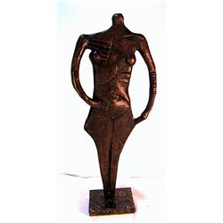 Rufino Tamayo  Original, limited Edition  Bronze - The Circus Performer