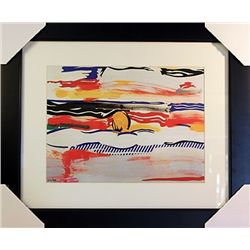 Roy Lichtenstein Limited Edition-SUNRISE