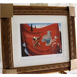 Salvador Dali Signed Limited Edition - Music - The Red Orchestra