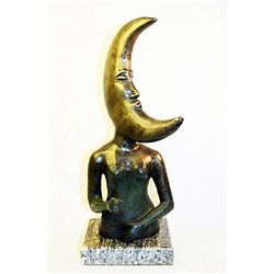Bustamante Original, limited Edition Bronze -Lady Moon-