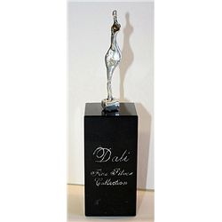 Dali  Real .999 Silver Sculpture - Female Figure