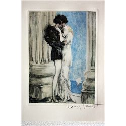 Original Louis Icart Lithographs from Le Faust suite - Together Again