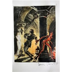 Original Louis Icart Lithographs from Le Faust suite - Follow Me
