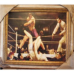 Bellows Limited Edition Giclee on Canvas - Dempsey and Firpo