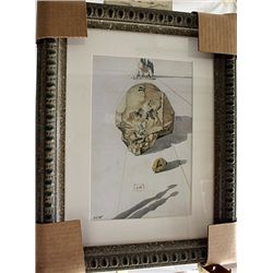 Salvador Dali Signed Limited Edition - Rocks