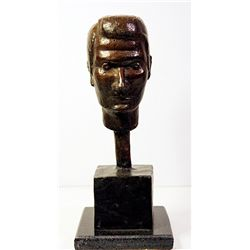 Diego Giacometti Original, limited Edition  Bronze -Man Head