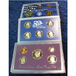 37. 1989 S & 2000 S U.S. Proof Sets. Original as issued.