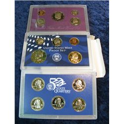38. 1989 S & 2000 S U.S. Proof Sets. Original as issued.