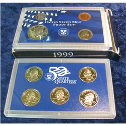 40. 1999 S U.S. Proof Set. Original as issued.