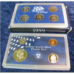 41. 1999 S U.S. Proof Set. Original as issued.