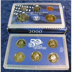 42. 2000 S U.S. Proof Set. Original as issued.