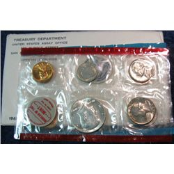 61. 1968 U.S. Silver Mint Set. Original as issued.