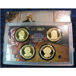 93. 2008 S U.S. Mint Presidential $1 Coin Proof Set in original case of issue.