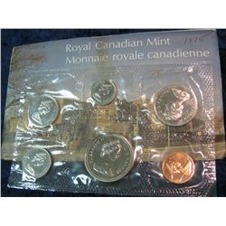 172. 1975 Canada Mint Set in original cellophane & envelope.