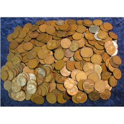 769. (424) Unsearched Wheat Cents.