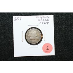 1857 Flying Eagle One Cent Piece