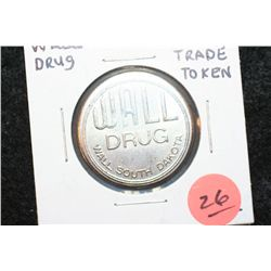 Wall Drug Wall SD Trade Token