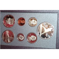 1992-S US Mint Prestige Proof Set W/Commerative Olympic Half Dollar & Commerative $1 Coin