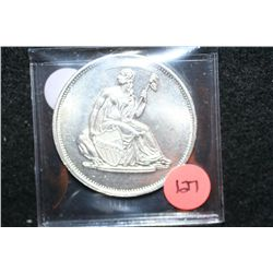 Seated Liberty  Silver Round, .999 Silver 1 Oz.