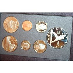 1992 US Mint Prestige Proof Set W/Commerative Olympic Half Dollar & Commerative $1 Coin