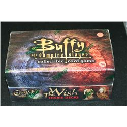 "Buffy the Vampire Slayer Collectible Card Game; Class of '99 ""The Wish"" Theme Decks, Unopened"