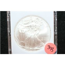 2008 Silver Eagle $1, MCPCG Graded MS70