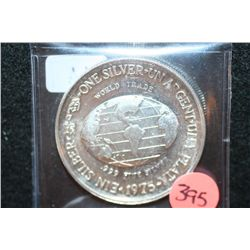 1975 The International Silver Trade Unit, .999 Fine Silver 1 Oz.