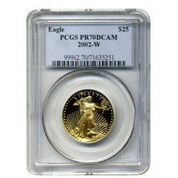 2000-W  $25 PCGS PR-70DCAM  American Gold Eagle  (Older PCGS PNG  Holder)
