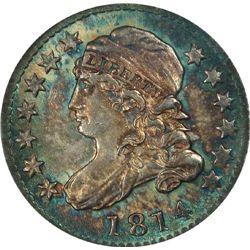 1814  NGC MS-66 JR-2 10c.   MONSTER WONDER COIN  (WORLD's FINEST)