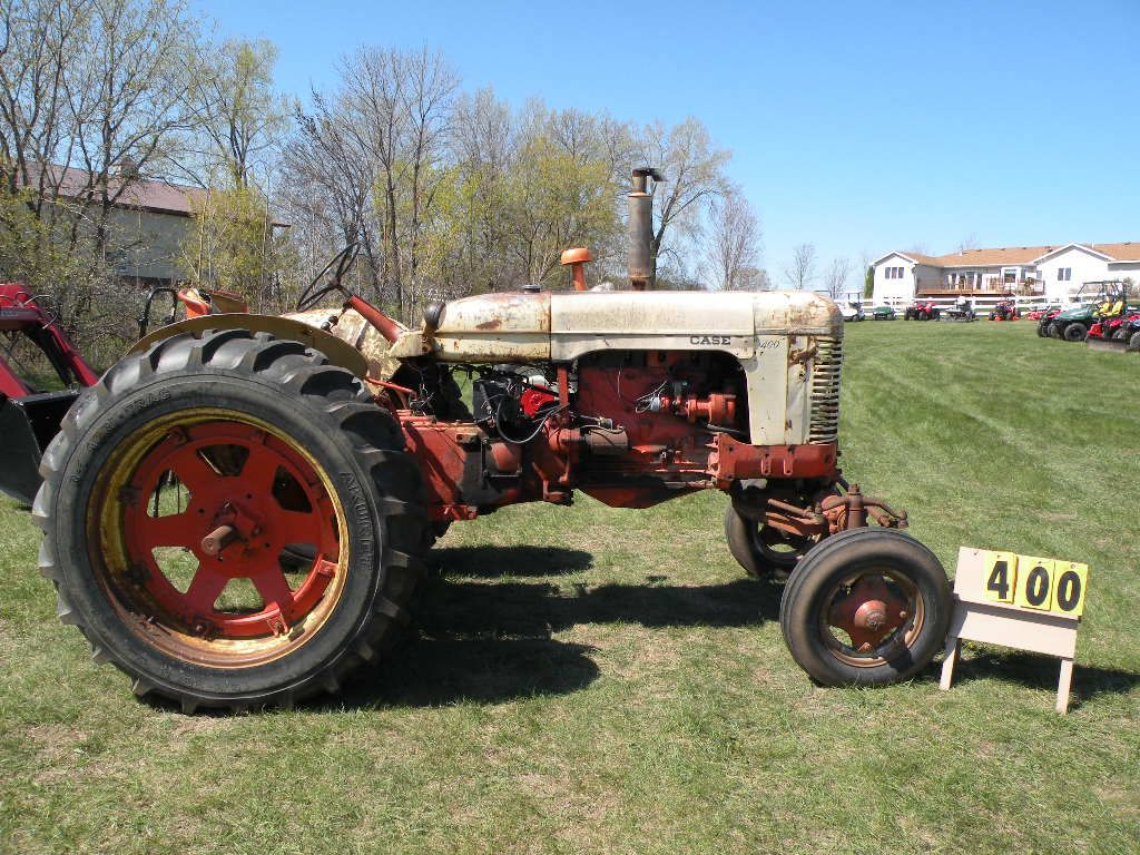 Case Gas Tractor : Case model tractor gas new rear rubber