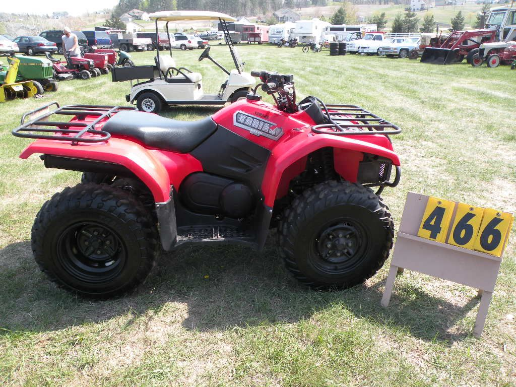 Yamaha Kodiak  Battery