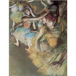 Ballet Dancers On Stage - Edgar Degas - Limited Edition on Canvas