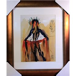 Salvador Dali Signed Limited Edition - VENUS