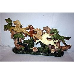 Siberian Multi Color Jade   Horses Mountain