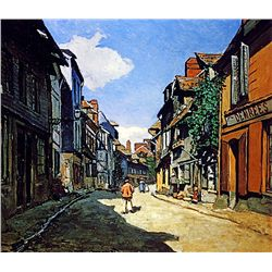 Rue de la Bavolle by Monet