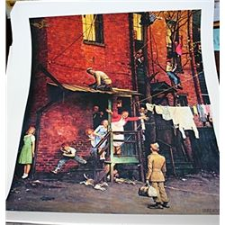 Norman Rockwell Limited Edition Limited Edition - Homecoming G.I.