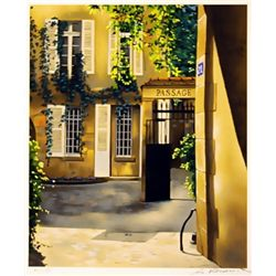Renoux Hand Signed Limited Edition Lithograph   Passage