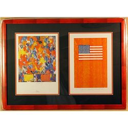 Jasper Johns Lithographs