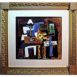 Picasso - Limited Edition - 3 Musicians