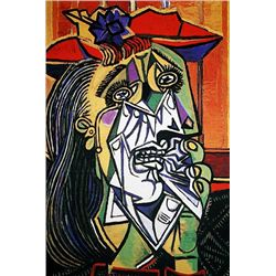 Picasso Limited Edition - Woman In Tears - from Collection Domaine Picasso