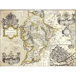 1610: John Speed map of the province of Connaught