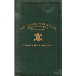 1913: Boer War history of the 3rd Battalion Leinster Regiment