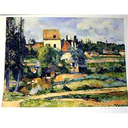 Limited Edition Cezanne- Mill On The Couleuvre Near Pontoise - Collection Domaine Cezanne