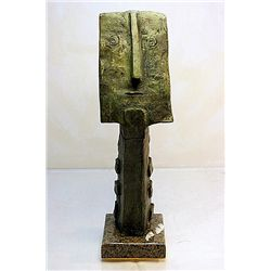 Iconic Pablo Picasso Original, limited Edition Bronze - Profile Portrait