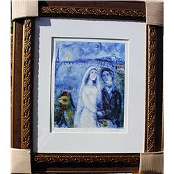 Couple In Paris  - Chagall - Limited Edition