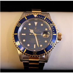 FANCY 18K GENTS SUBMARINER ROLEX